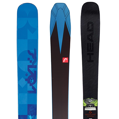 Freeride skis